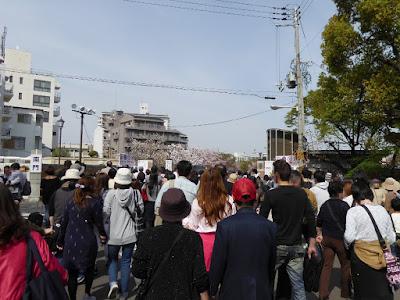 大阪造幣局 桜の通り抜け 南門入口