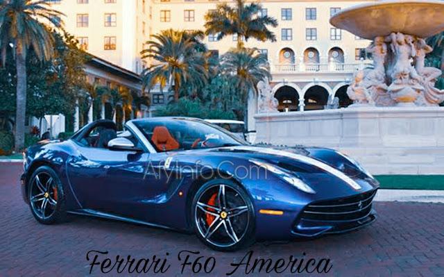 Gambar Mobil Ferrari F60 America