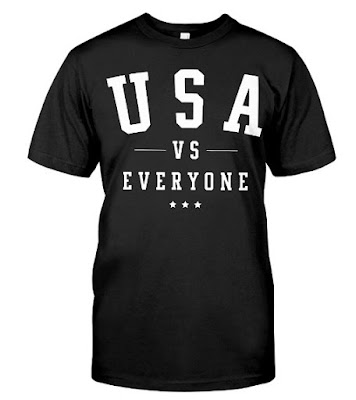 USA vs Everyone 4th of July T-Shirts Hoodie