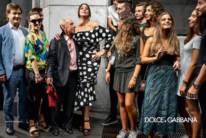 Monica Bellucci fronts Dolce & Gabbana spring-summer 2019 campaign