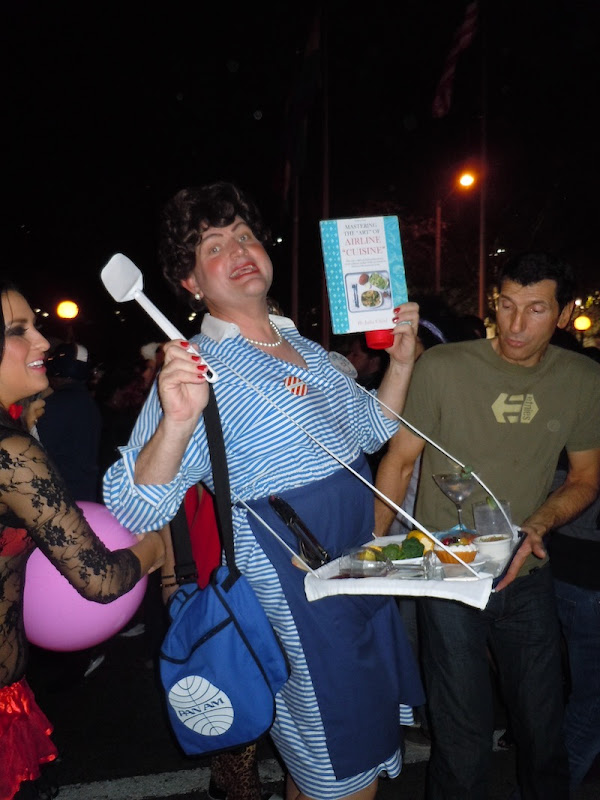 Julia Child costume West Hollywood Halloween