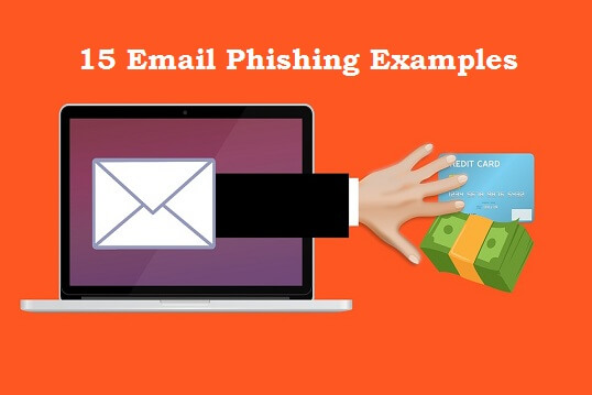 Email Phishing Examples