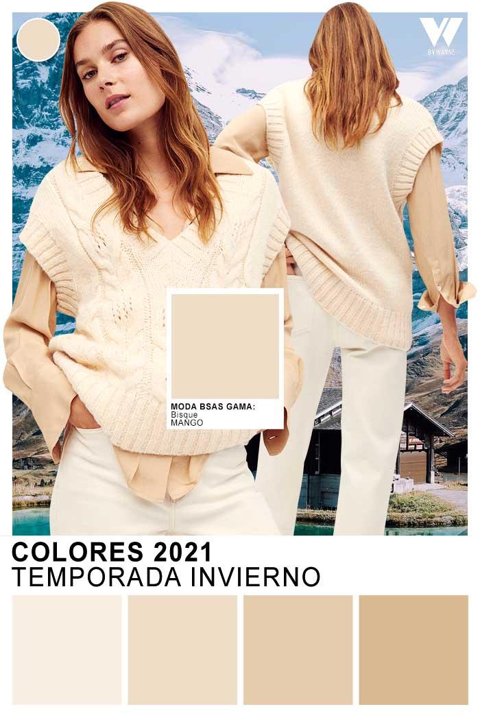 colores de moda otoño invierno 2021 beige moda colores invierno 2021 paleta de colores