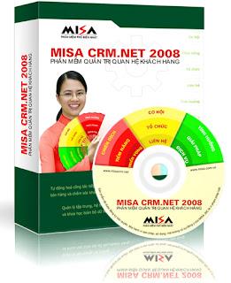 Phần mềm CRM của MISA