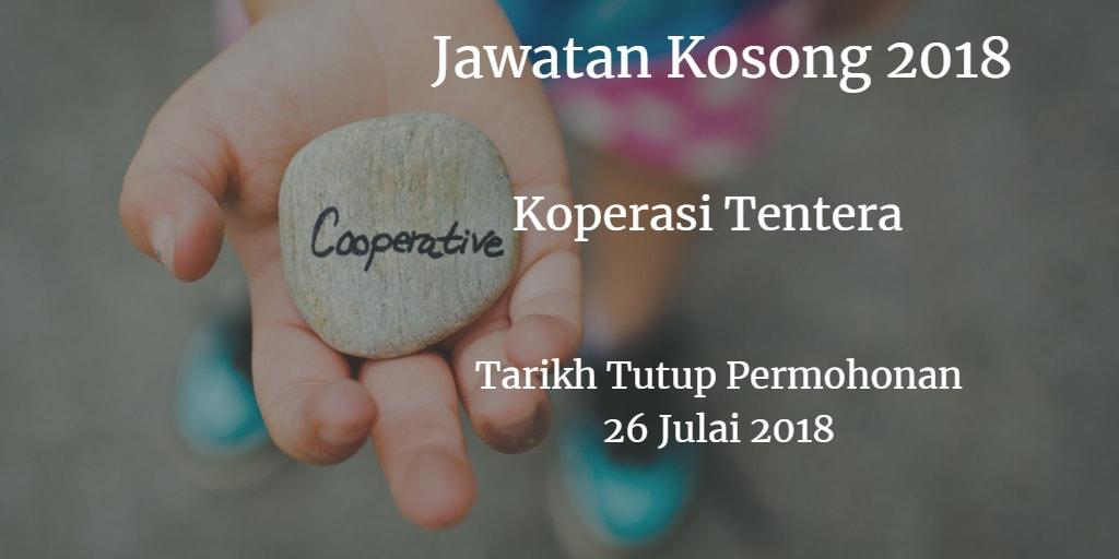 Jawatan Kosong Koperasi Tentera 26 Julai 2018
