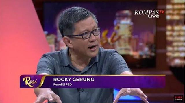 Rocky Gerung Kritik Pernyataan Tito Jakarta Lebih Buruk dari Shanghai: Itu Menghina NKRI