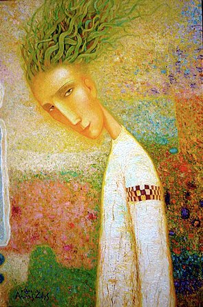 Arunas Zilys 1953 | Lithuanian Mythic Surrealist painter