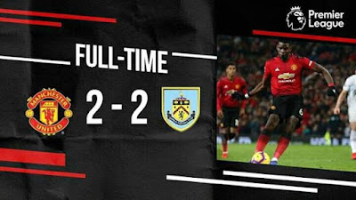 Ole Gunnar Solskjaer's winning run with Manchester United was ended by Burnley, but they came within minutes of a shock defeat.