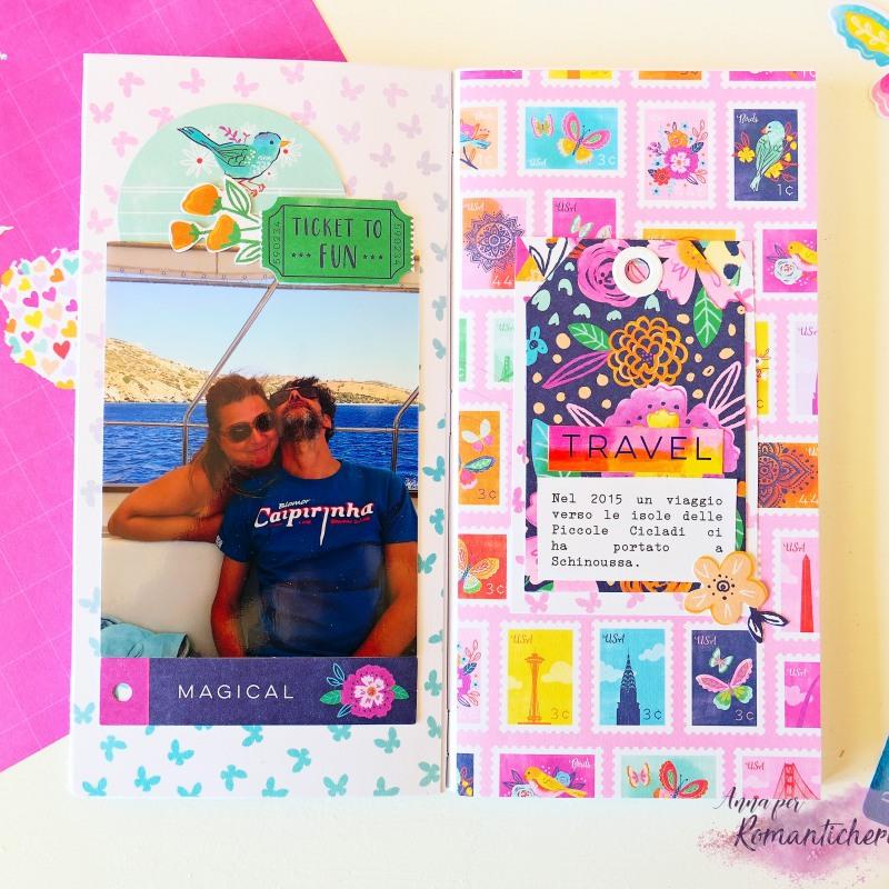 Cattura i ricordi estivi su un Traveler's Notebook