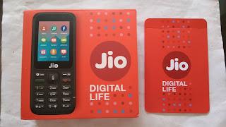 Jio phone & sim