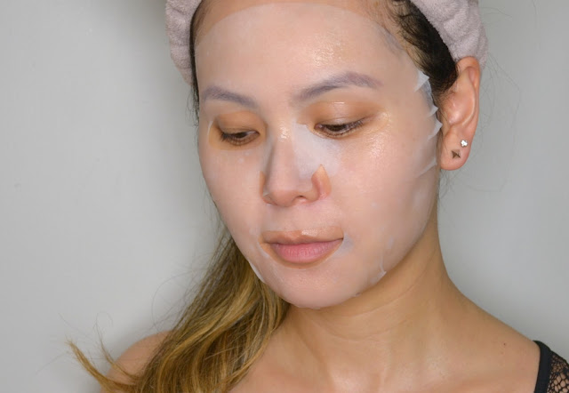 MasqueBAR Naturals Coconut Sheet Mask Selfie