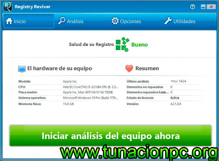 ReviverSoft Registry Reviver con portable