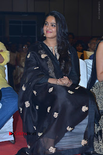 Actress Anushka Anushka Shetty Stills in Black Salwar Kameez at Om Namo Venkatesaya Audio Launch Event  0041.JPG