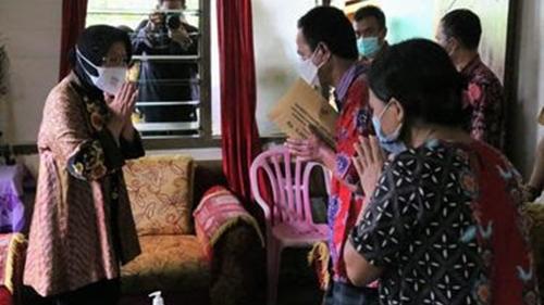 Kemensos Beri Bantuan Rp 67,5 Juta untuk Korban Luka akibat Ledakan Bom Makassar