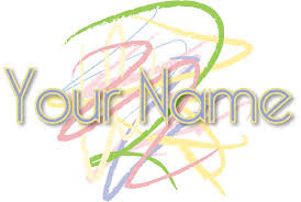 YOUR NAMES