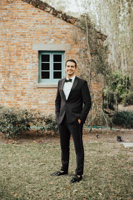 formal groom in tux