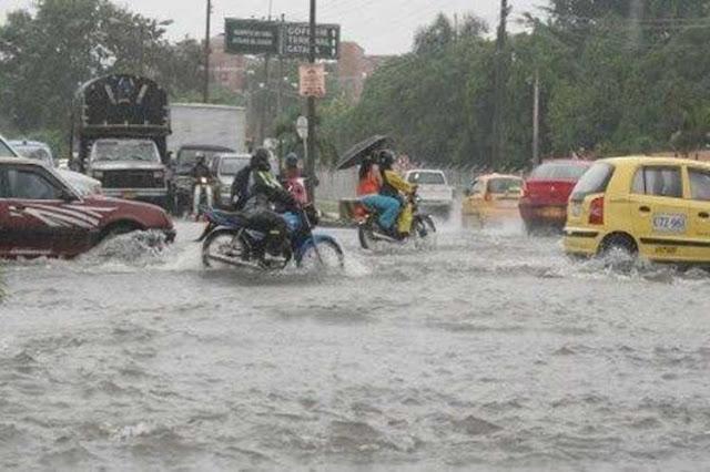 Continúan las lluvias en la República Dominicana