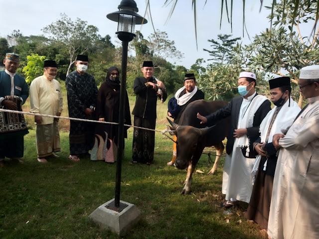 Sholat Idul Adha, Bupati Tebo Serahkan Hewan Kurban