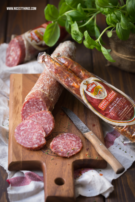 Italian Salami Food Photography
