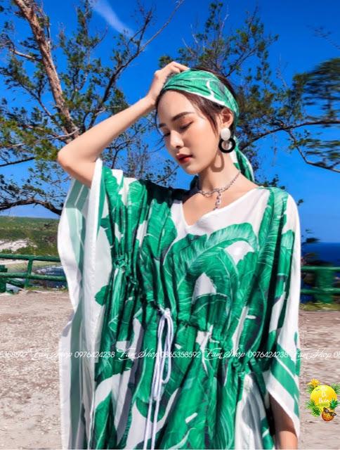 Cua hang ban vay maxi di bien tai Nhat Tan