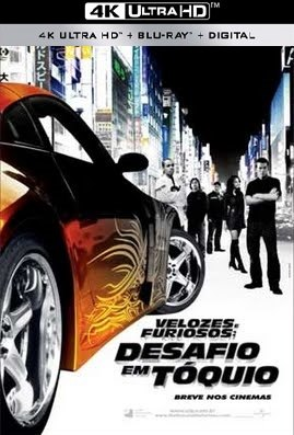 Filme Velozes e Furiosos - Desafio em Tóquio 4K 2006 Torrent Download