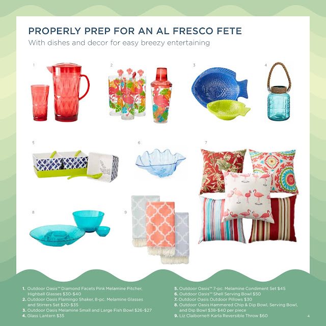 JCPenney Summer 2016 Look Book: Summer Entertaining   via  www.productreviewmom.com