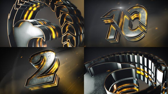 Epic Logo Reveal And Countdown[Videohive][After Effects][24289352]