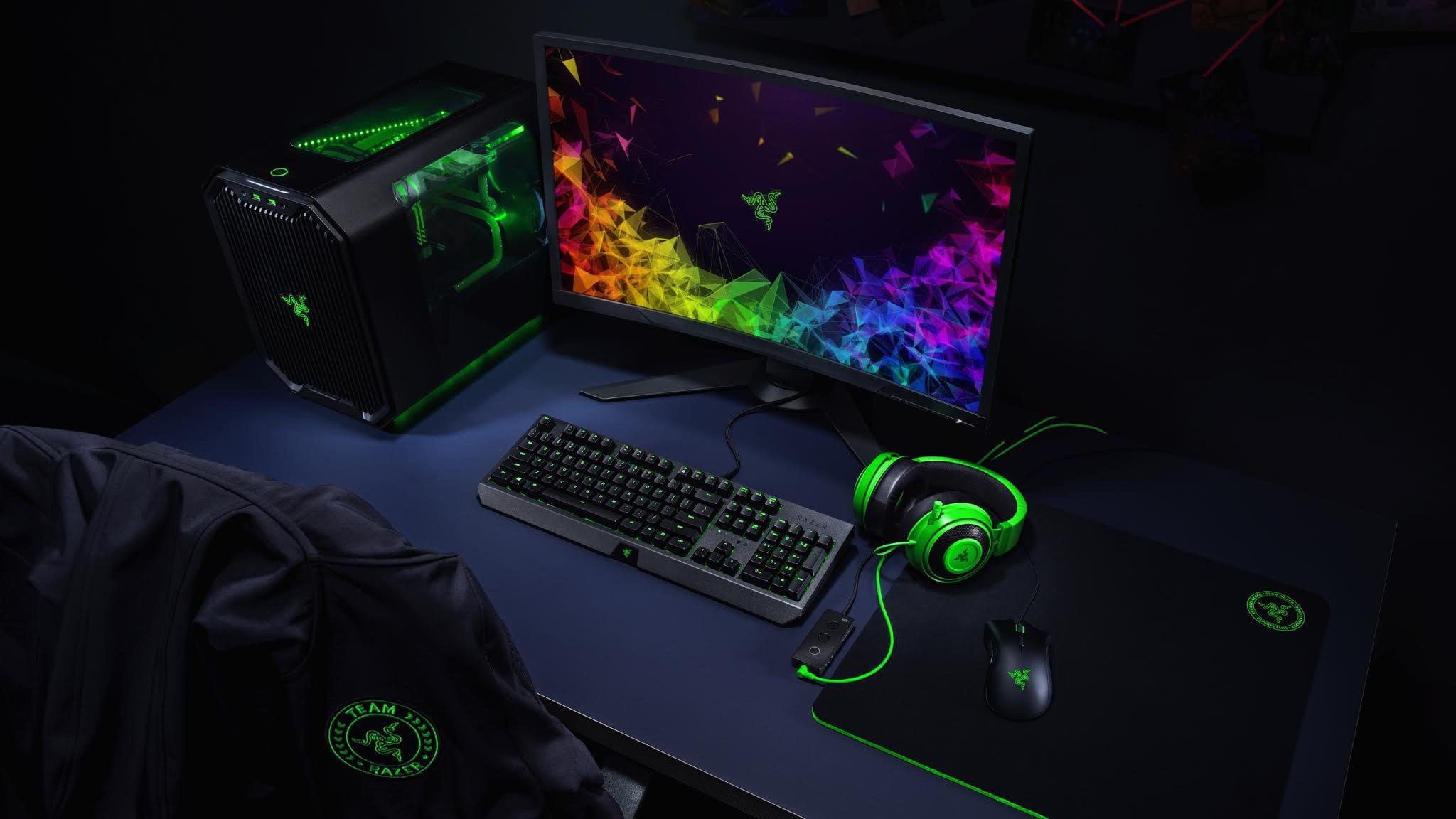 Razer Gaming Setup Wallpaper