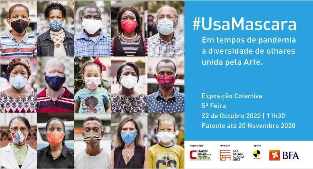 Exposição Coletiva #UsaMascara -  Camões Luanda 22/10