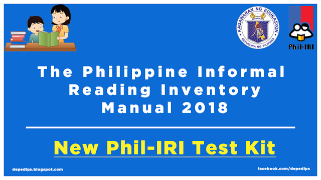 All New Phil-IRI Manual of 2018 Full 720 Pages in PDF