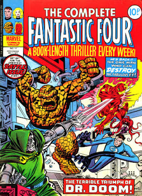 Complete Fantastic Four #11, Dr Doom