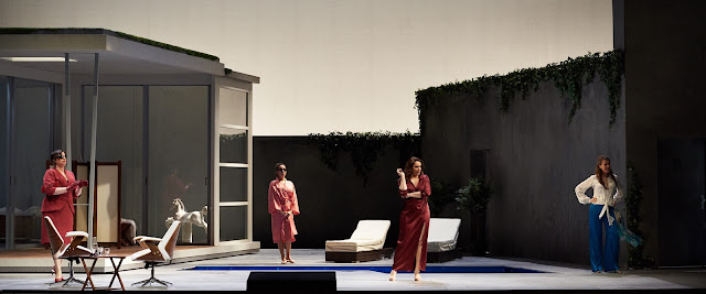 Verdi: Falstaff - Daniela Barcellona, Nadine Sierra, Barbara Frittoli, Katharina Kammerloher - Staatsoper Berlin (Photo: Matthias Baus)