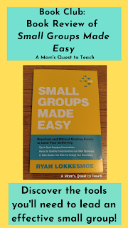 book cover of Small Groups Made Easy; Discover the tools you'll need to lead an effective small group