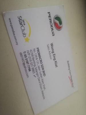 Trusted Perodua Banting Sales Advisor