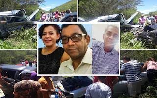 Grave acidente na BR-330 próximo a Jequié, deixa 03 mortos e dois feridos graves