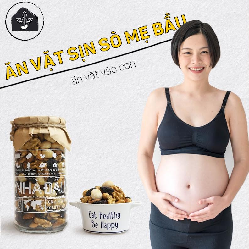 Gợi ý các món ăn vặt bổ dưỡng, giúp Mẹ Bầu không tăng cân