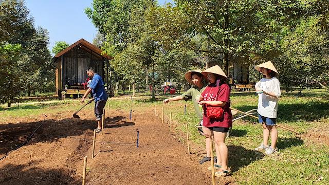 Trải nghiệm làm nông nghiệp trong vườn