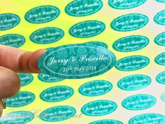 sarawak, kuching, wedding favour, favor, door gift, sticker, oval shape, round, square, circle, print, cetak, malaysia, kuala lumpur, selangor, sabah, penang, johor bahru, singapore, invitation card