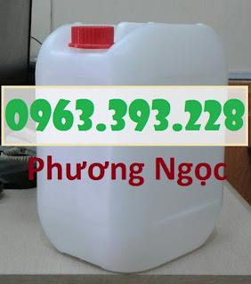 Can nhựa vuông 10 Lít, can đựng hóa chất, can đựng axit 5e65095ad48434da6d95