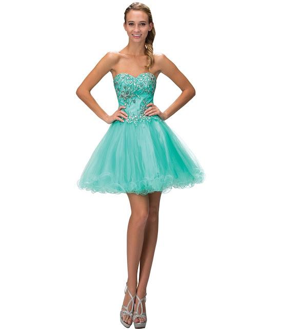 vestidos cortos de fiesta con encaje