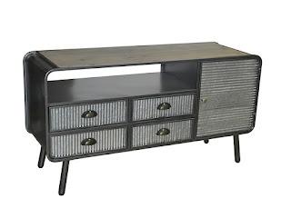 Mueble TV industrial actual