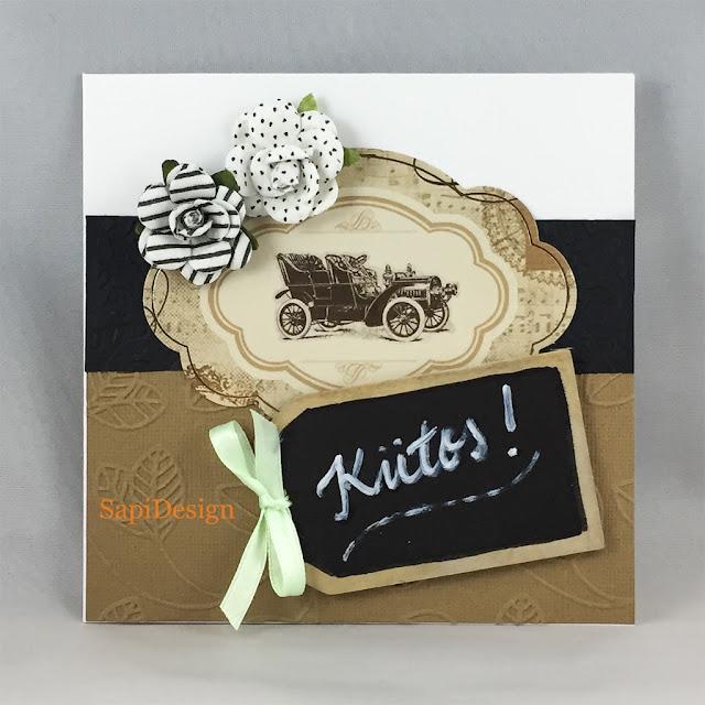 thank you card work group handmade SapiDesign