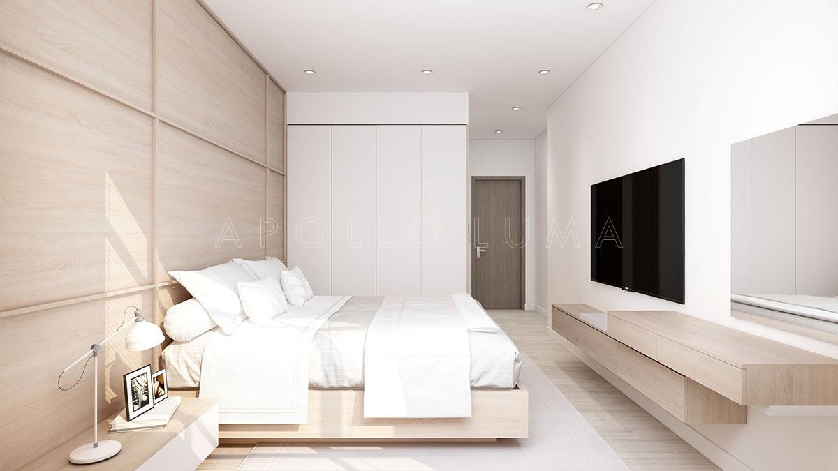 Mẫu thiết kế nội thất căn hộ The Terra An Hưng cho căn 3 phòng ngủ