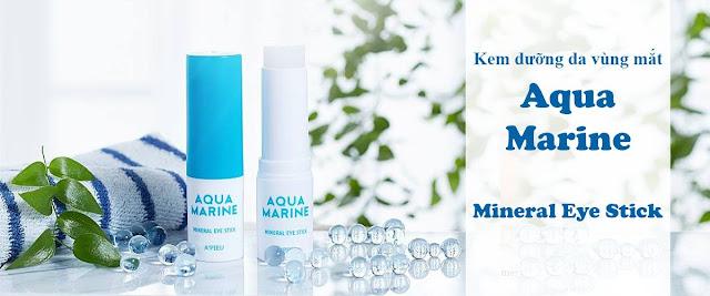 review Dưỡng mắt trị thâm Apieu Aqua Marine Mineral Eye Stick có tốt không