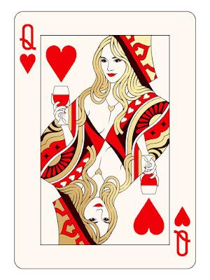 Playing Cards Gold Edition Screen Prints by Mahdieh Farhadkiaei x Black Dragon Press