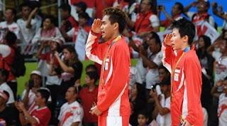 Indonesia Raya Berkumandang di olimpiade Rio 2016