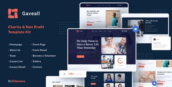 Best Charity Elementor Template Kit