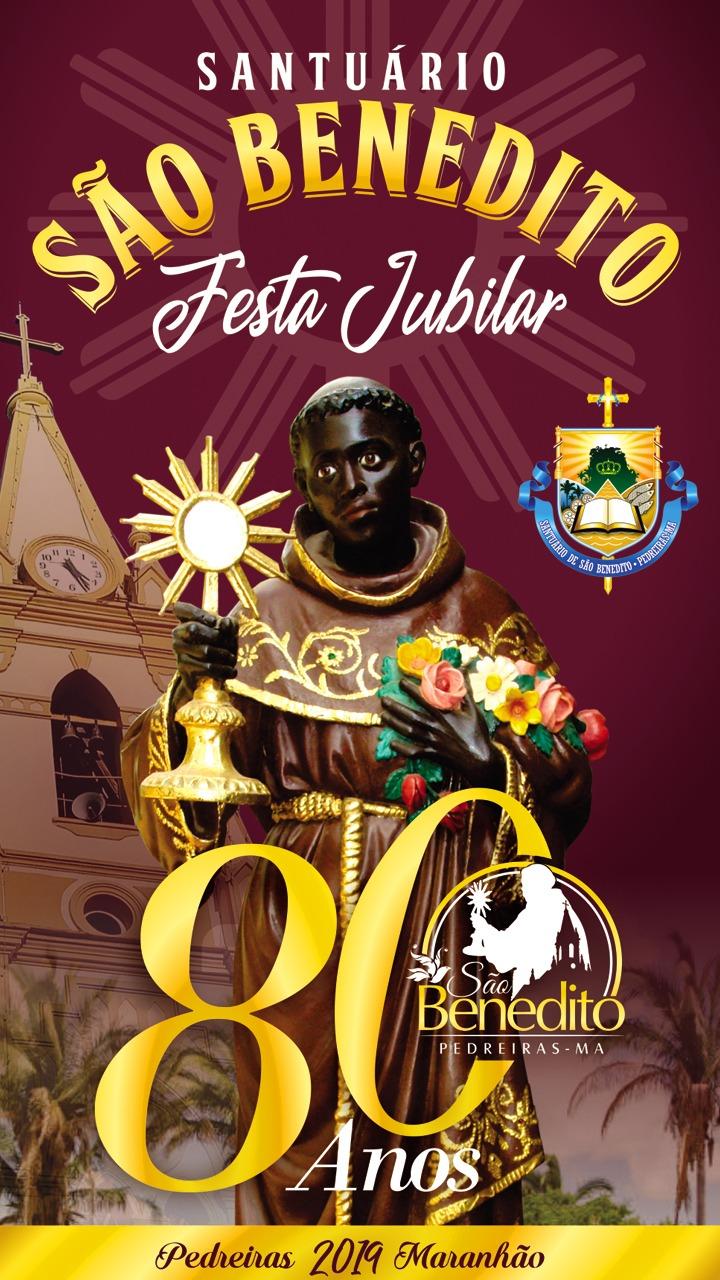 Pedreiras: Vai começar o festejo do padroeiro São Benedito.