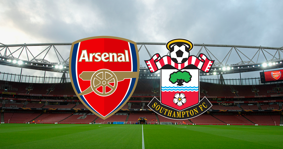 Which channel does Arsenal vs. Southampton for the Premier League
