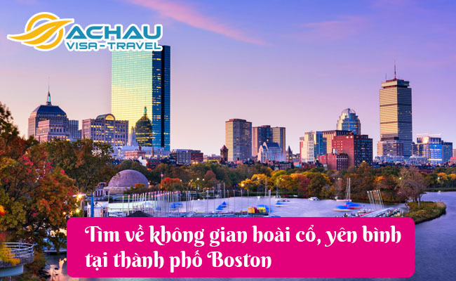 thanh pho boston
